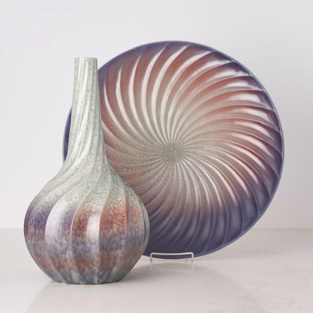 Bates Interior Designs Twisted Vase