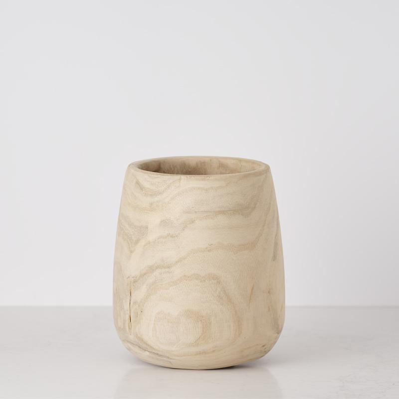 200522 Bates Design Product Shots0980 wooden pot